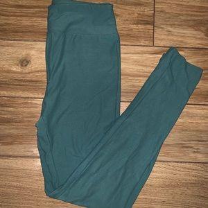 NWOT Lularoe Green Leggings